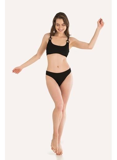 Loya Bikini Üst Siyah